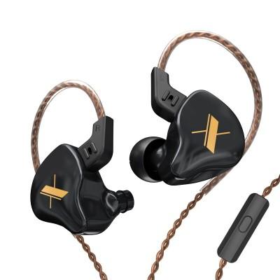Наушники KZ ZS5 (EDX) с микрофоном black