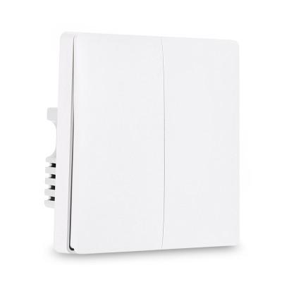 Выключатель Aqara Smart Light Switch Live Double Button ZigBee Version QBKG03LM