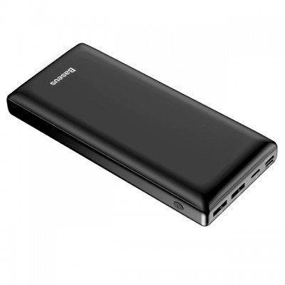Банк заряда Baseus X30 2xUSB+Type-C 30000mAh 15W black