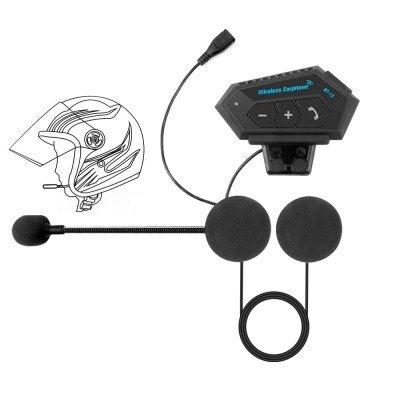 Bluetooth гарнитура для мотошлема BT12. IP67, Bluetooth 4.2